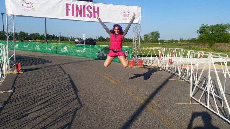 jen jump finish line