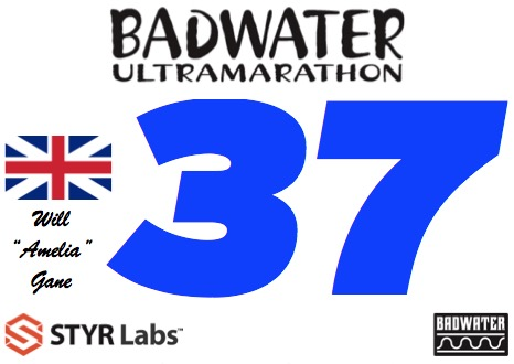 Will Gane Badwater 2016 bib
